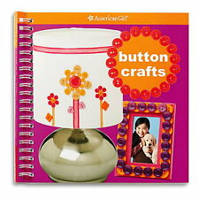 NEW AMERICAN GIRL Button Crafts Activity Book ~Making Unique Gifts~ Carrie Anton