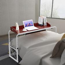 Modern Laptop Keyboard Shelf Overbed Adjustable Mobile Bed Sofa Office Table New