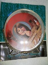 Vintage 1970 Gilt Make-Up Mirror~~NOS~~Original Packaging