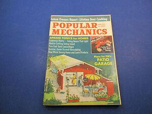 Popular Mechanics Magazine,April 1965,Falcon Owners Report Lifetime Boat Caulkin