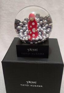 YAYOI KUSAMA SNOW GLOBE SNOWGLOBE FIGURE YAYOI MOMA DESIGN - JAPAN