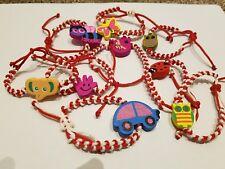 1 x Bracelet kids Children Red White Martenitsa Martenitca Martenitza Martisor K