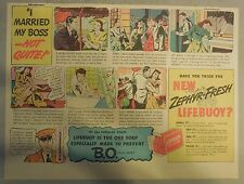 LifeBuoy Soap Ad: I Married My Boss Not Quite ! Wartime Ad from 1940's