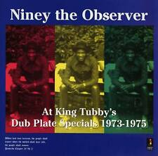 NINEY THE OBSERVER  AT KING TUBBY'S DUB PLATE SPECIALS 1973-1975 NEW CD £9.99