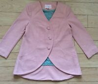 Textured Petal Jacket By Electric Love Light Size 2 Pink NW ANTHROPOLOGIE Tag