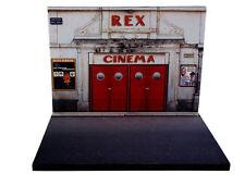 Diorama présentoir Cinéma Rex 1963 - 1/43ème - #43-2-A-A-049