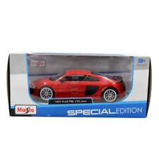 Maisto 1:24 Scale Audi R8 V10 Plus Diecast Model in Red