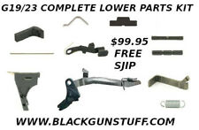 Premium Lower Parts Kit for Glock 19 Gen3 and  Polymer80 PF940c