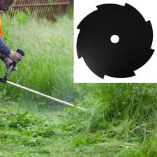 8T Teeth Grass Trimmer Brush Cutter Head Steel Garden Tools Strimmer Mower Blade