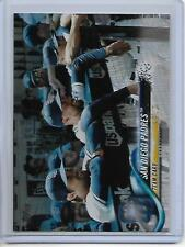 2018 Topps Series 2 San Diego Padres Rainbow Foil Parallel Card