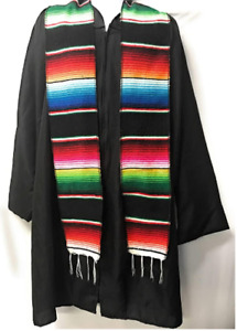 "New Creations Fabric & Foam, 5"" W x 76"" L Mexican Serape Graduation Stole Sash"