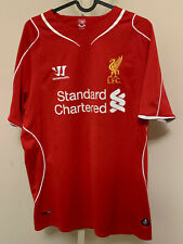 Liverpool 2014/15 Home Shirt - #Skrtel 37 - Warrior Jersey - Size: M