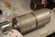 """Vander Graaf TM150A25-805, 12"""" Face,1/2hp Power Roller, Stainless Steel, 5.9"""" OD"""