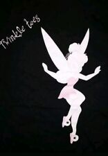 SMALL - Tinkerbell twinkle toes t-shirt: punk rock Disney cute retro