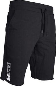 Under Armour Rival Fleece Mens Training Shorts - Black