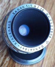 Schneider Kreuznach Xenon 16mm 1.9 C mount lens | cine 16 f1.9 Bolex BMPCC