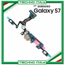 FLAT FLEX USB DOCK CARICA RICARICA GALAXY S7 G930F CONNETTORE + MIC PER SAMSUNG