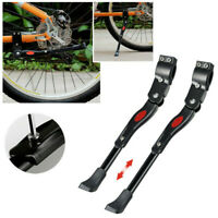 Adjustable Heavy Duty Mountain Bike Bicycle Cycle Prop Side Rear Kick Stand #G9Z