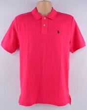 POLO RALPH LAUREN Men's Pink Polo Shirt, size S (18-20 years)