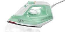 AEG Bügeleisen EasyLine DB1720 Dampf Bügeleisen 2.200W grün / weiß