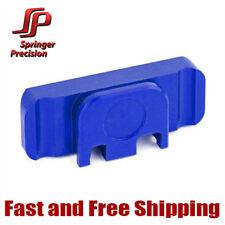 Springer Precision Duty/Carry EZ Ambi Slide Racker Backplate For Glock - Blue