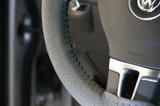 """New 14.5"""" PVC Leather Grey Steering Wheel Cover Wrap 47005 Sport Coupe Sedan"""