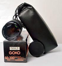 GOKO 60-300 F4-5.6 FOR PENTAX K & RICOH PROGRAM