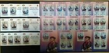 BU IMPERF,PERF 2013 BURUNDI FAMOUS PEOPLE GREAT COMPOSER WAGNER 12BL+12KB MNH