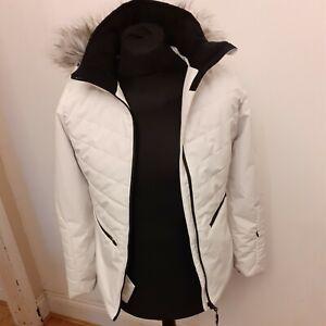 Women's Trespass Size  X Small TP75 Waterproof / Windproof Ski Jacket XS WHITE