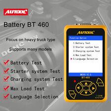 AUTOOL BT460 car battery load tester Battery Analyzer for 12V Vehicle 24V Heavy