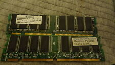 Samsung 256MB DDR PC3200U-30331-Z CL3 Ram Memory (6 cards)