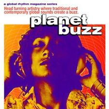 GLOBAL RHYTHM MAGAZINE SERIES - PLANET BUZZ - 11 TRACK MUSIC CD - LIKE NEW E833