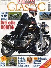 MC9503 + NORTON + MAICO M 175 + KAWASAKI S1/ KH 250 + MOTORRAD CLASSIC 3 1995