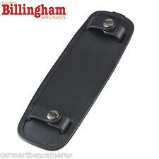 """Billingham SP50 Shoulder Bag Pad For 2"""" - Fits 107 207 307 - Black Leather"""