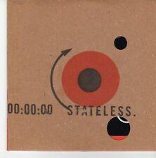 (EB322) Stateless, Down Here - 2004 DJ CD