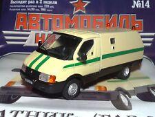 1:43 GAZ-3302 ''RATNIK''  Warrior collection service  + Magazine #14