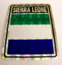 """3x4"" Sierra Leone Stickers/ Sierra Leone Flag / Decal"