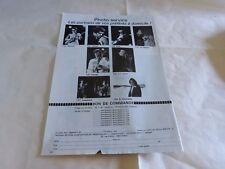 SANTANA - BIJOU - STEVENS - Publicité de magazine / Advert !!! vintage 70's !!