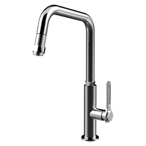 ABEY GESSI OFFICINE PULLOUT CHROME TAP - 60053