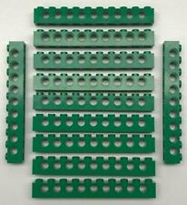 Long Beams holes 2730 16 Light Bluish Gray Lego 1x10 Technic Bricks Lot