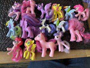 My Little Pony Bulk X 15 Mixed Colours Sizes