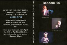 Babylon 5 Babcom '95 Convention DVD 4 Disc Set 1995 Jurasik, JMS, Christian