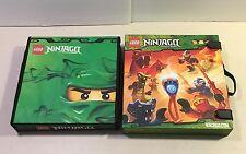 2 Lego Ninjago Masters of the Spinjitzu Cases Soft Hard Battle Arena Storage