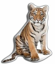 """Tiger Wildlife Lovers Gift – Beautiful Large 'Cuddle Cushion'  approx 18"""" x 16"""""""