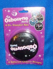 The Osbourne's 4 Piece Coaster Set New Old Stock Sealed