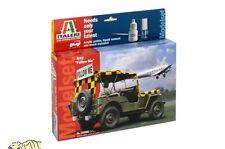 Willys Jeep - Follow Me - Model Set - 1:35 - Italeri 70390