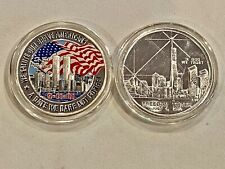 2- 9/11 Silver Rounds, See Other Silver, Gold, Coins, Jewelry & Paper Currnecy