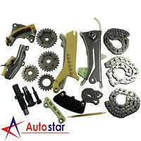 Engine Timing Chain Kit With Gears For Ford Mazda Mercury 97-09 4.0L SOHC V6