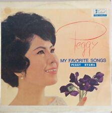1964 Peggy Hayama My Favorite Songs Vinyl LP Rare Ultraman Japan Jazz Pop