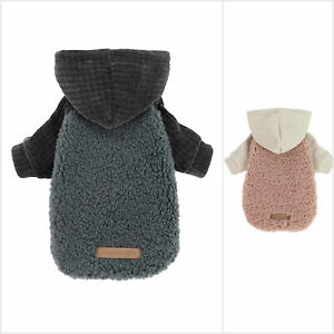 Fitwarm Velvet Thermal Dog Coat Puppy Winter Clothes Pet Jacket Cat Hoodie